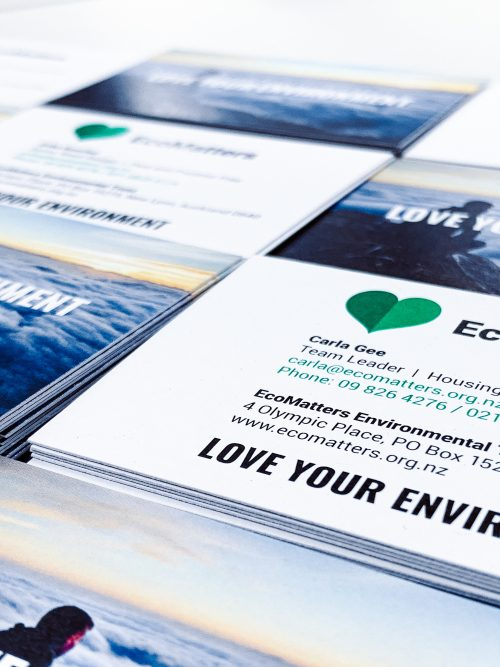 Ecomatters business cards